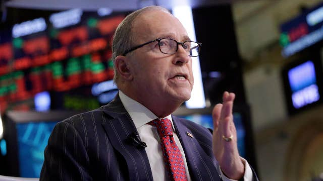 Kudlow: We're operating from a greater position of economic strength