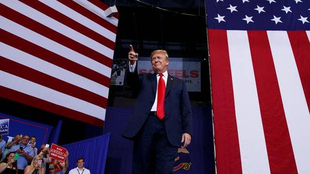 Trump: We've created 3.4 million jobs