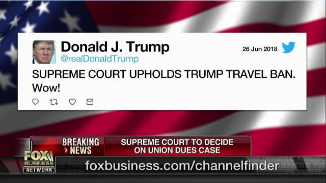 Reaction to Trump travel ban ruling not suppressed on social media: SocialFlow CEO