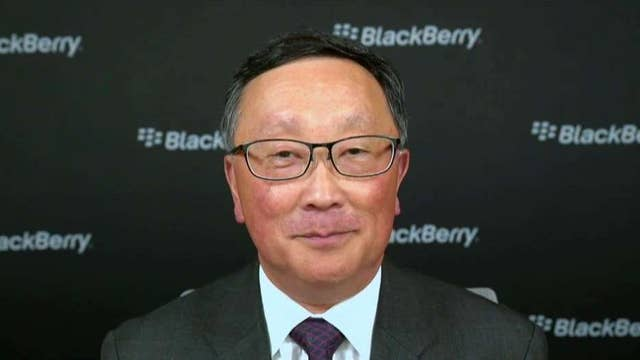 BlackBerry CEO on the next steps in its comeback story