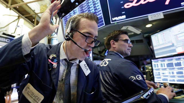 Stock market rebounds as financial sector rallies
