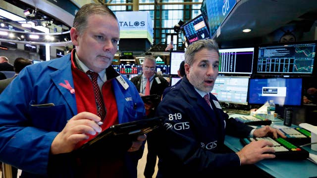 What is weighing on bank stocks?