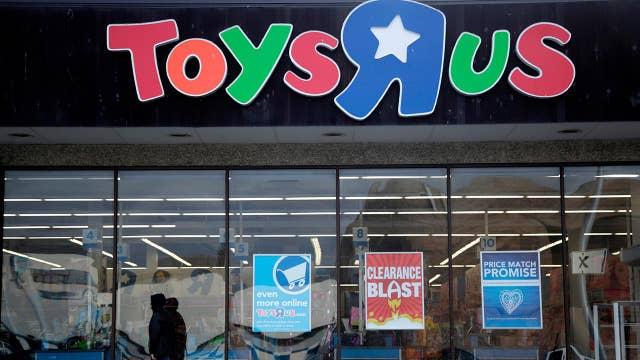 Toys 'R' Us closes up shop
