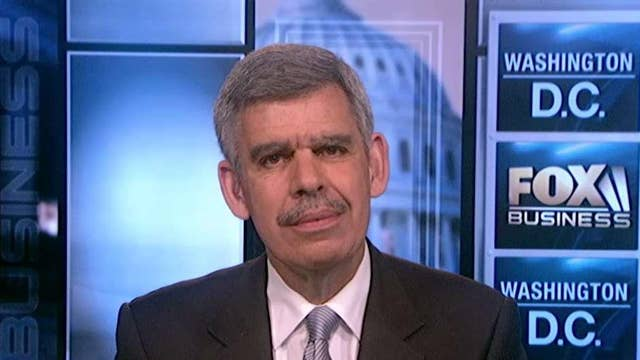 Mohamed El-Erian: Will see an acceleration of US growth for a while