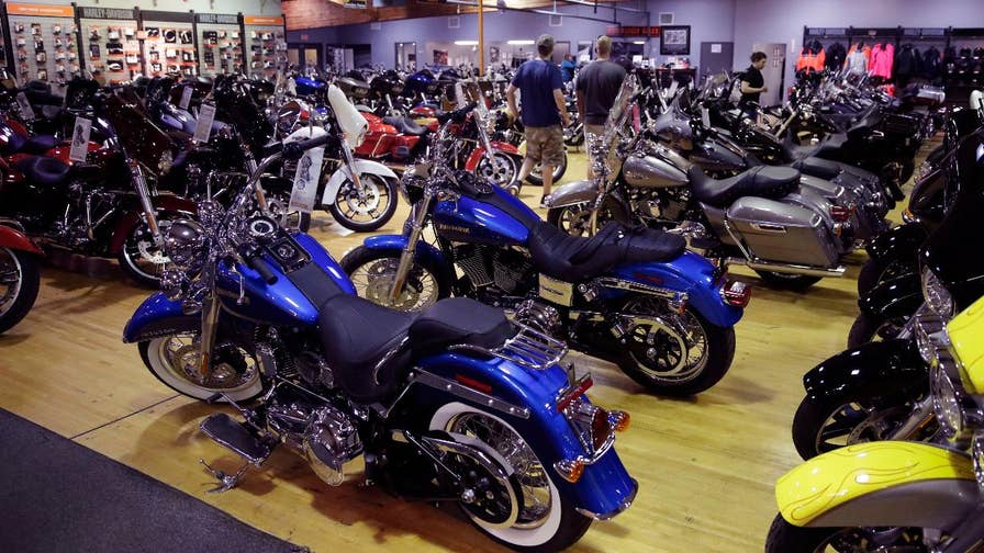 FBN's Jeff Flock discusses how Harley-Davidson is moving some of its production overseas.