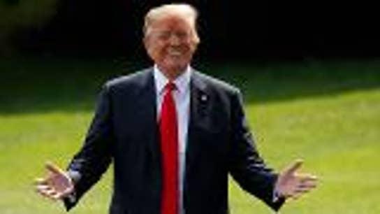 Trump touts US economy prior to North Korean summit