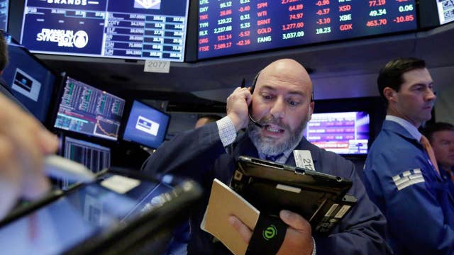 Trade tensions weigh on the markets