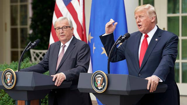 Trump: EU will buy more US soybeans
