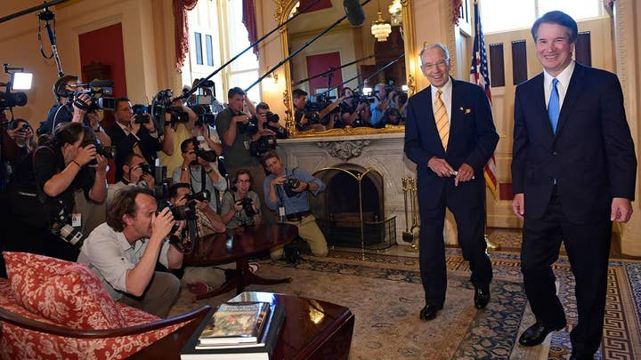 Left-wing media outrage over Judge Kavanaugh nomination