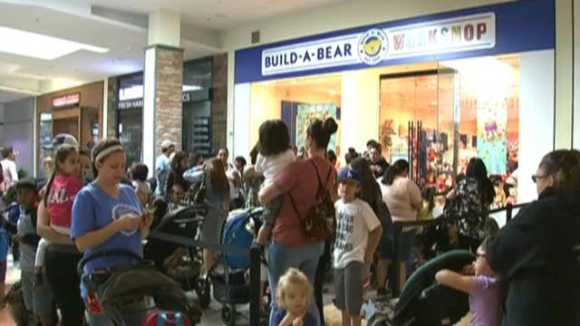 Build-A-Bear 'pay your age' promotion turns into pandemonium