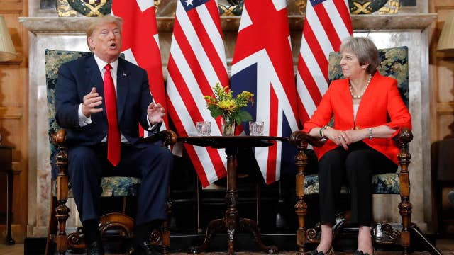 Trump criticizes May over Brexit handling