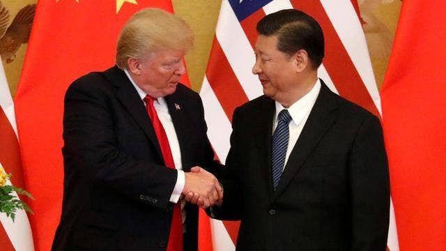 Trump on China: Nasty trade battle, but ultimately that will work out