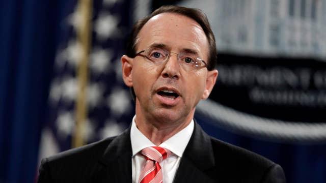 House GOP efforts to impeach Rod Rosenstein