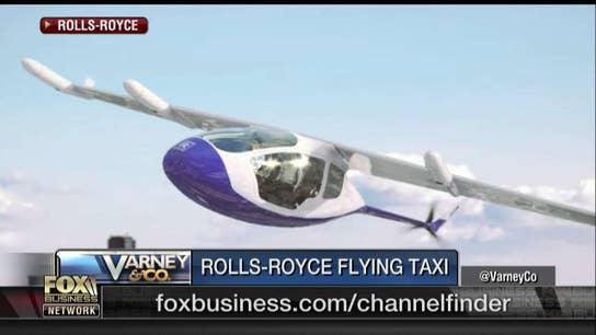 Rolls Royce unveils flying taxi