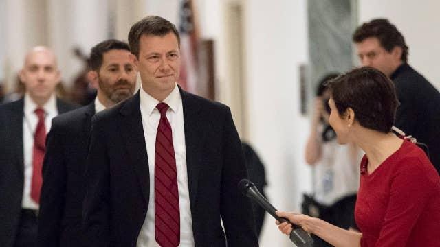 FBI's Peter Strzok denies that bias impacted his work