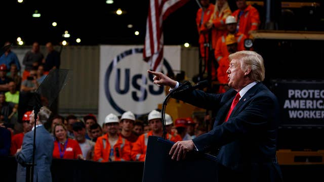 Trump: We need steel mills for national security