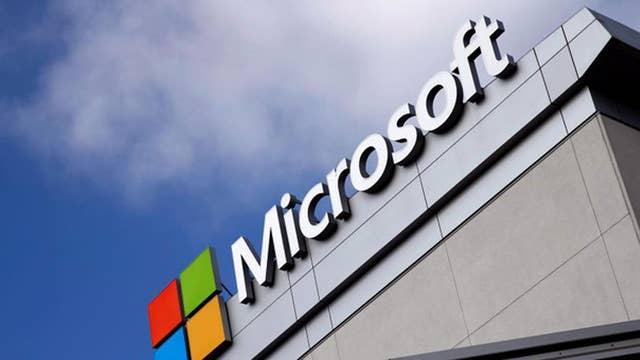 Microsoft's cloud computing benefiting from Amazon?