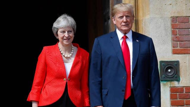 Trump: Can't walk away from Brexit talks