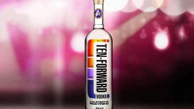 Star-Trek inspired space vodka launches