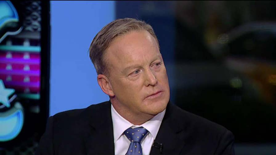 "Former White House Press Secretary Sean Spicer shares stories from his new book ""The Briefing."""