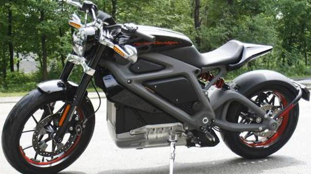 Harley-Davidson brings LiveWire electric bike to production