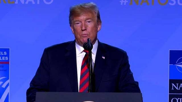 Trump on NATO: Everyone's agreed to substantially up their commitment
