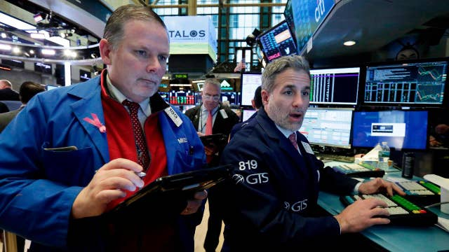 Investors in a holding pattern because of trade tensions?