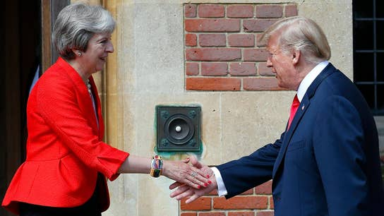 Trump says he apologized to Theresa May for interview