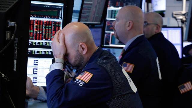 Tech stock selloff raising concerns of potential correction