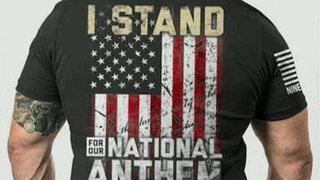 Veteran starts patriotic clothing business