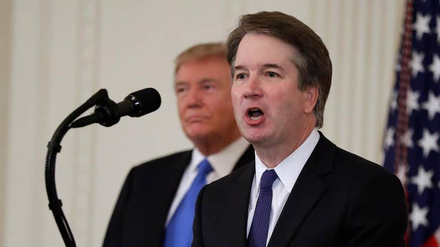 Stirring the pot with Democrats voting in Kavanaugh