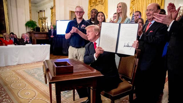 Trump's executive order puts American workers first: Eric Beach