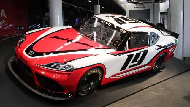 Supra speeds into NASCAR