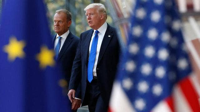 Europe's view of Trump, US amid trade dispute