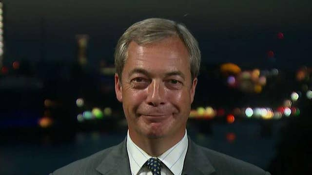 UK government is paranoid about my relationship with Trump: Nigel Farage