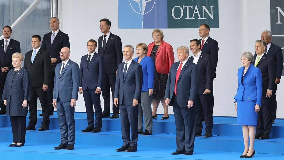 Trump pushes NATO countries to increase defense spending
