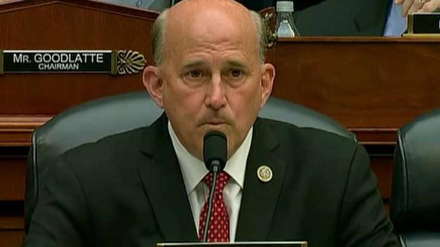 Rep. Louie Gohmert, (R-Texas), on FBI agent Peter Strzok's testimony on Capitol Hill and former FBI lawyer Lisa Page's upcoming interview behind closed doors.