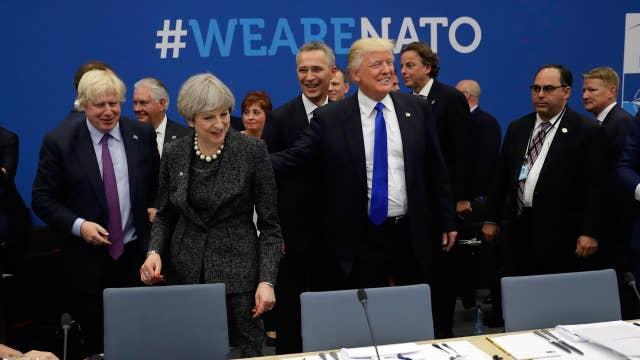 Trump anticipated to pressure NATO allies