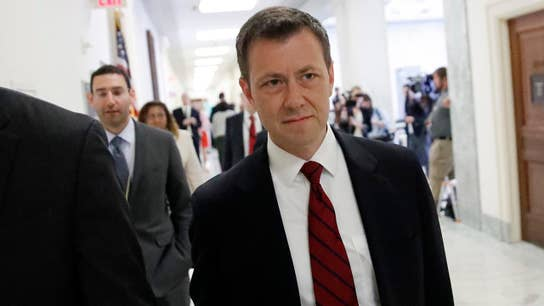 Democrats interrupt hearing over question directed at Strzok