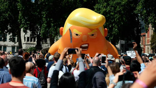 London protestors not aware of substance of what Trump's doing: Hilton