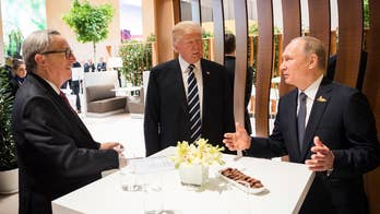 American Defense International Chair Van Hipp hopes that President Trump confronted Russian President Vladimir Putin about important topics like cyber warfare during their summit in Helsinki.