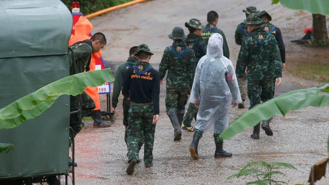 Soccer team, coach all rescued from Thailand cave