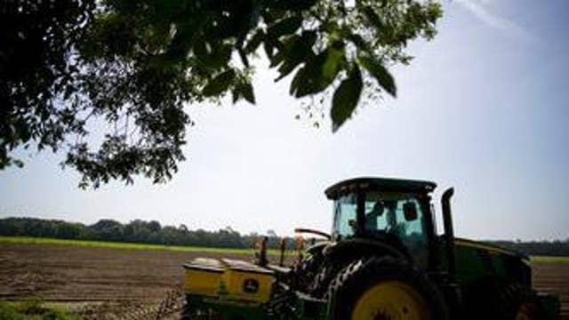 Tariffs hit US farmers