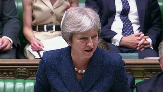 British Prime Minister Theresa May has to go: Nigel Farage
