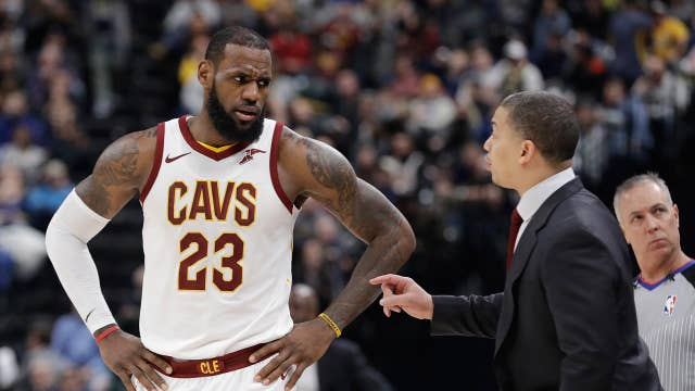 LeBron James moves on to the Lakers