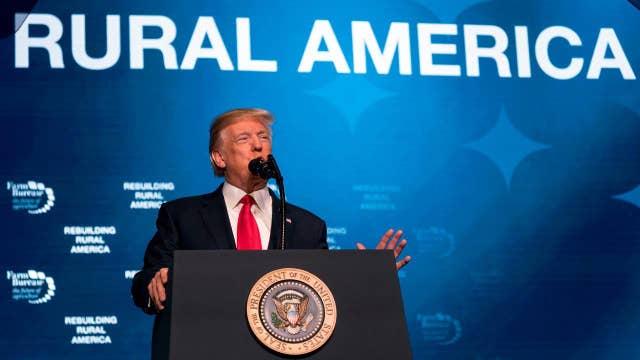 Concerns the escalating trade dispute could hurt Trump's base