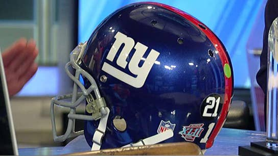 Eli Manning helmet could net up to $1M in auction