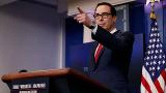 Treasury Secretary Mnuchin says tariffs haven't hurt US economy