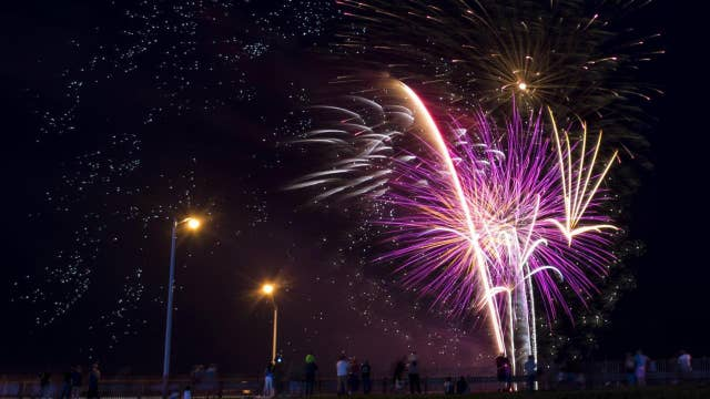 Fireworks sales taking off