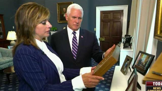 Vice President Pence gives an inside look at his West Wing office